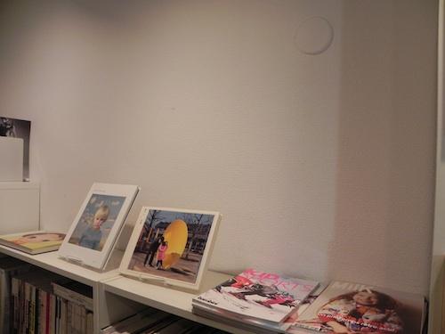 下北沢の古本屋クラリスブックスの店内美術・写真