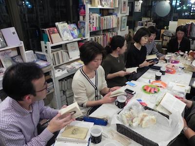 東京下北沢の古本屋クラリスブックス読書会怪談