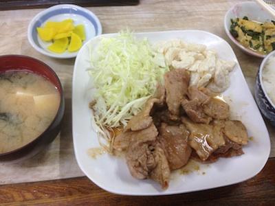 東京都三鷹市樹生姜焼き