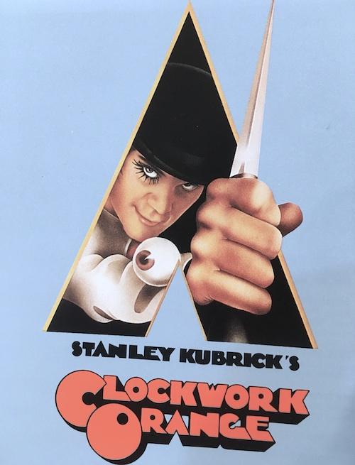 古本買取クラリスブックス 映画 キューブリック 時計じかけのオレンジ